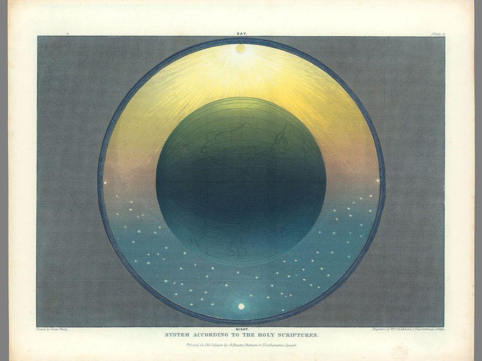 Los mapas muggletonianos del universo