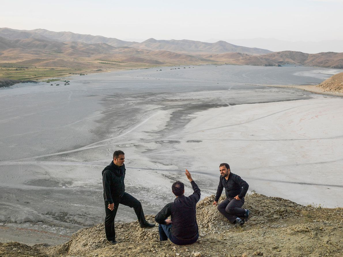 Lago Urmia, Irán