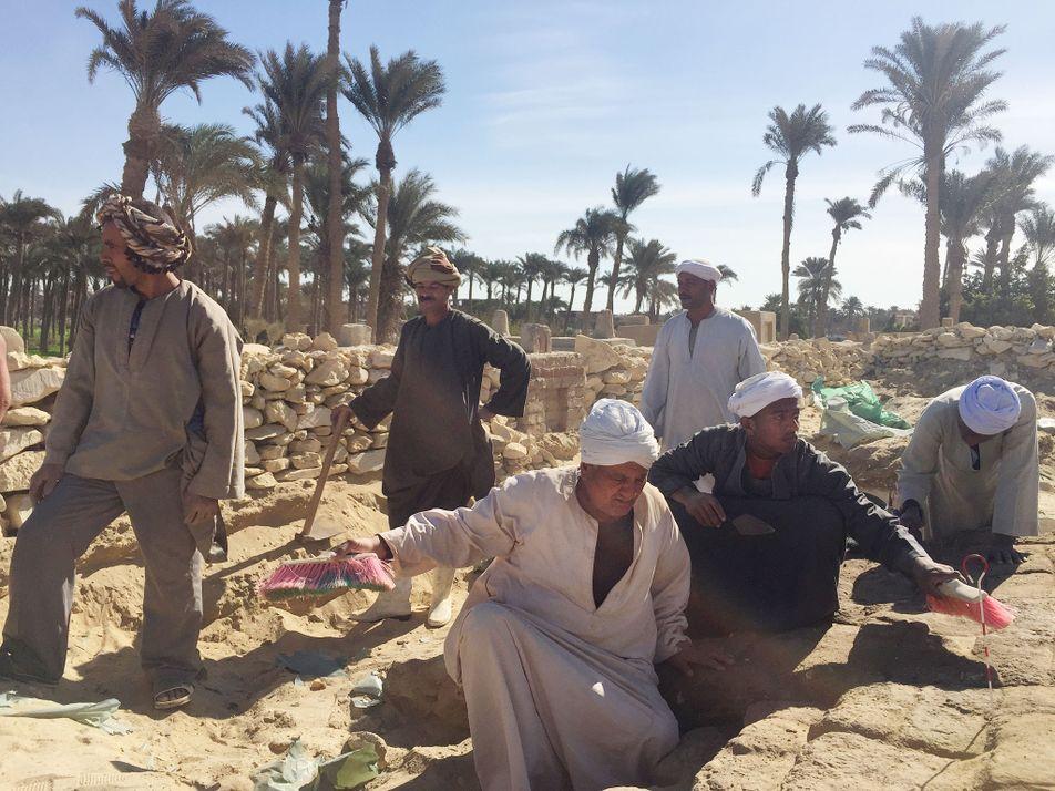 Las 800 tumbas egipcias de Lisht
