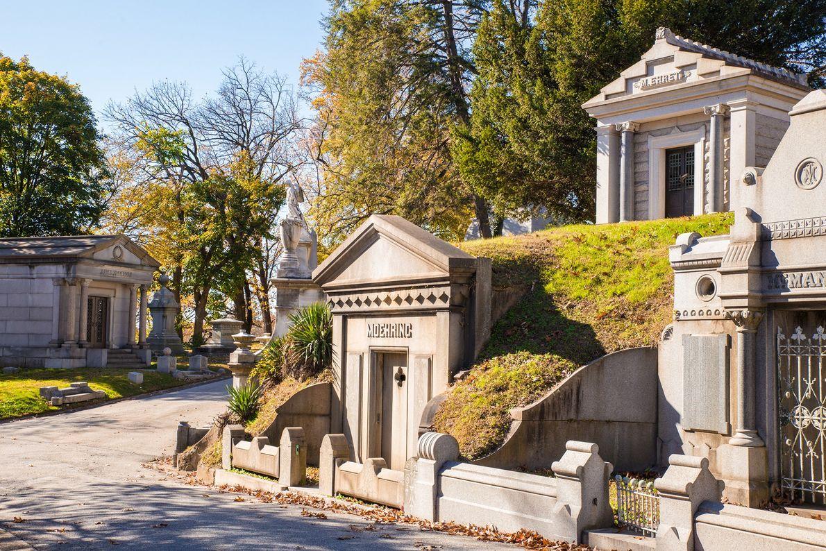 Cementerio Laurel Hill, Filadelfia
