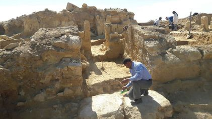 Desenterrado en Egipto un templo grecorromano
