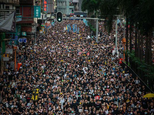 Las protestas de Hong Kong