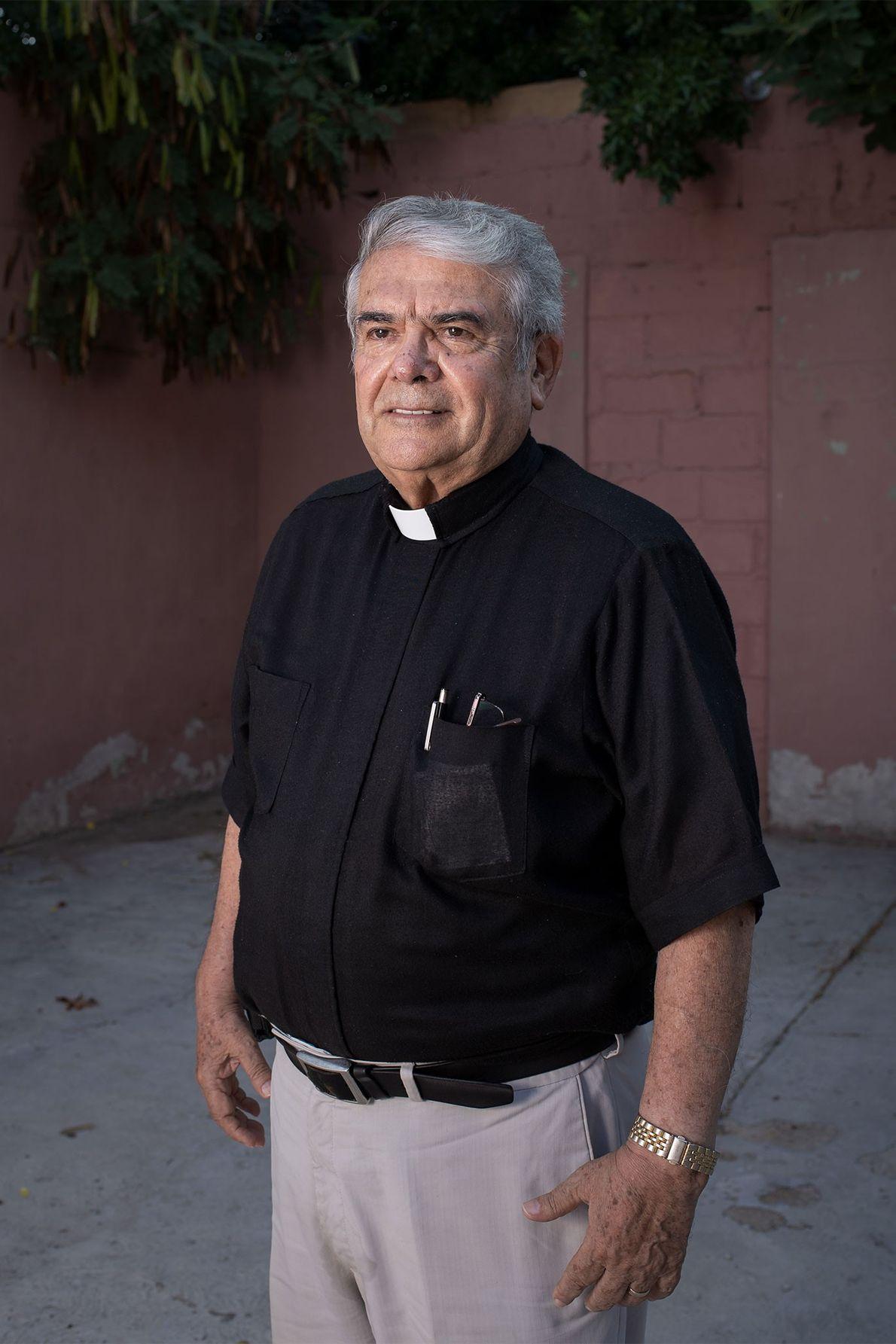 El sacerdote José Guadalupe Valdés Alvarado
