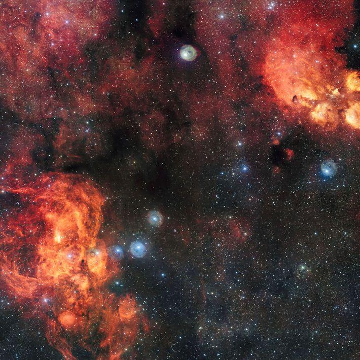 La nebulosa de la Langosta