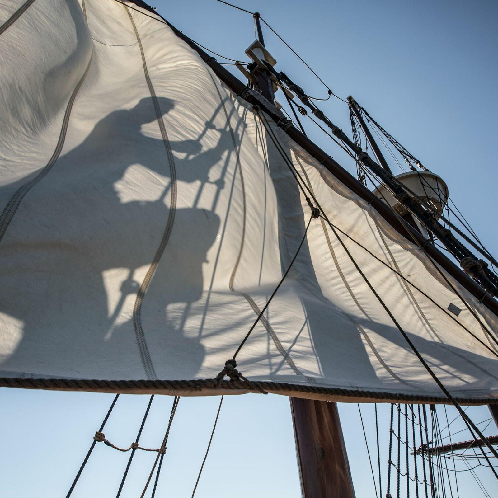 Fotografía de un barco