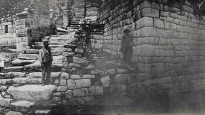 Las primeras fotografías de Machu Picchu de Hiram Bingham