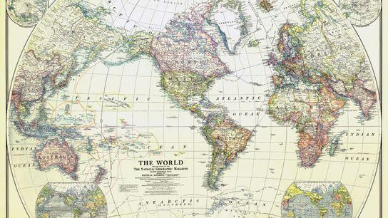 Mapamundi de 1922