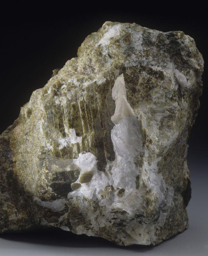 Mineral de serpentina