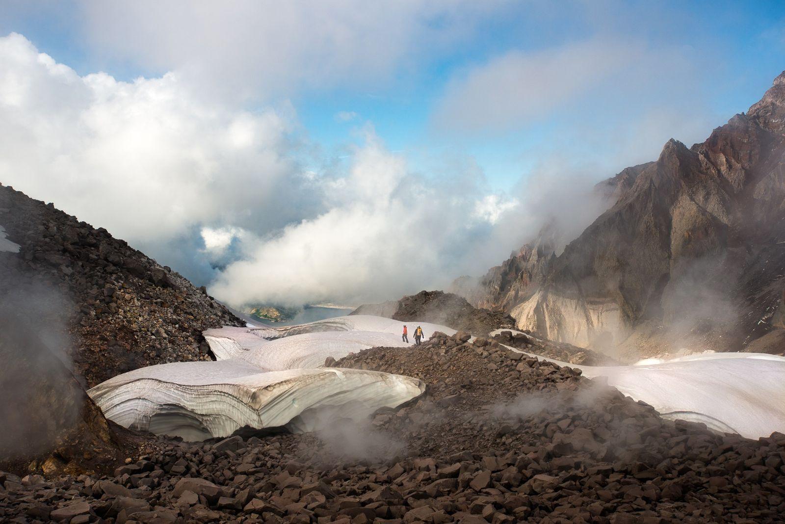Glaciar del monte santa Helena
