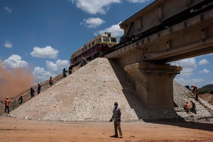Ferrocarril en Nairobi