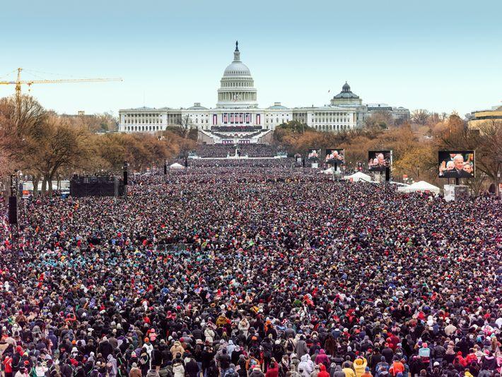 Ceremonia de investidura de Barack Obama