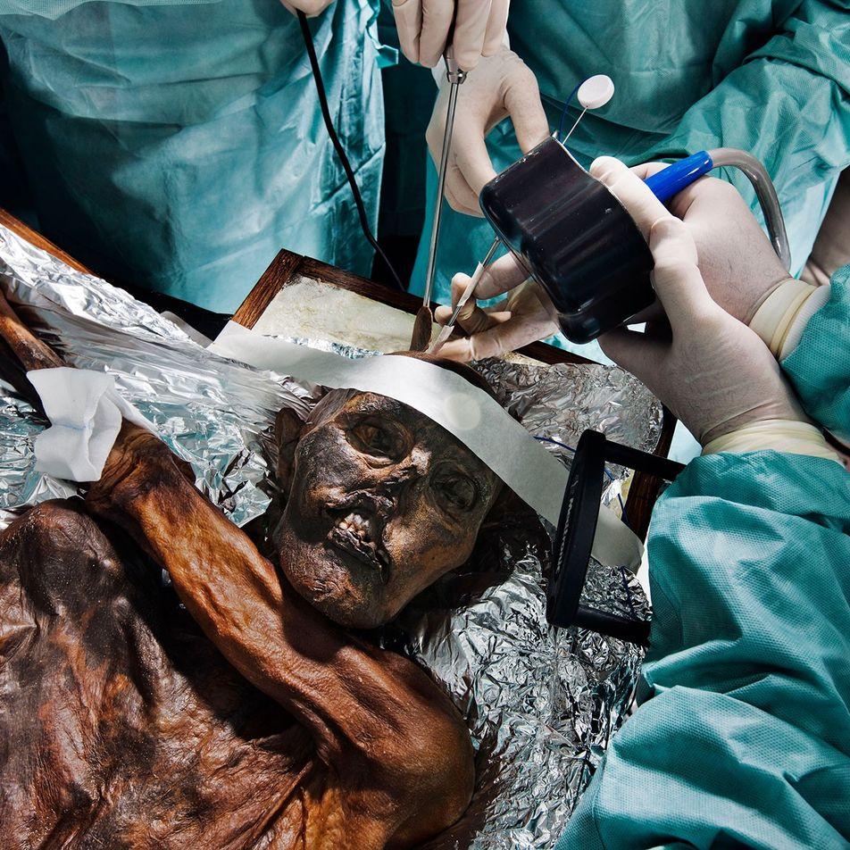 Reconstruyen los últimos pasos de Ötzi, el hombre de hielo