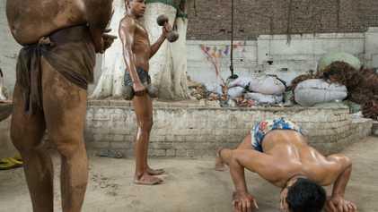 La lucha pehlwani, la antigua tradición de lucha libre en la India y Pakistán