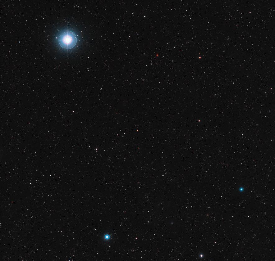 La enana roja Ross 128 se encuentra en la constelación de Virgo, la virgen.