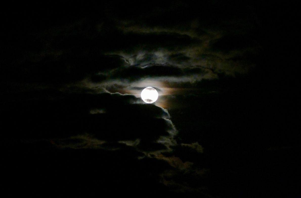 Superluna en Reino Unido