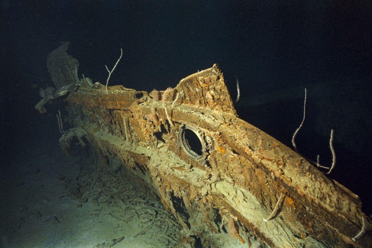Casco del Titanic