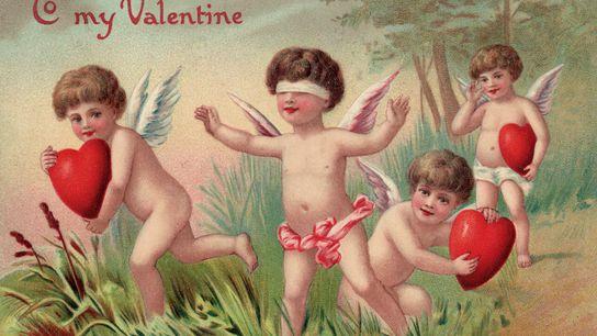Postal de San Valentín