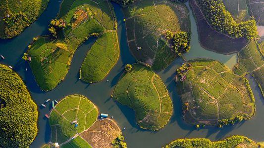 Fotografías de Vietnam desde el cielo