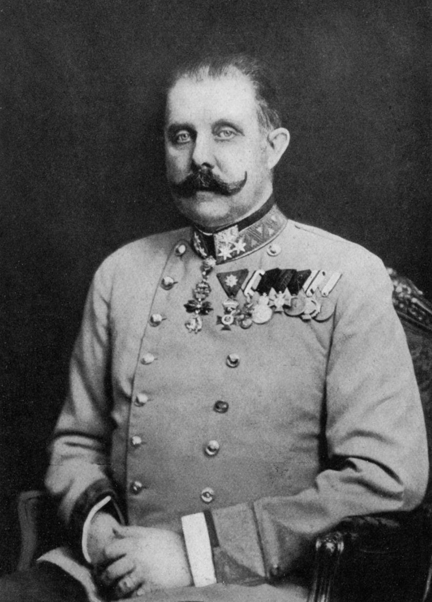 El archiduque Francisco Fernando