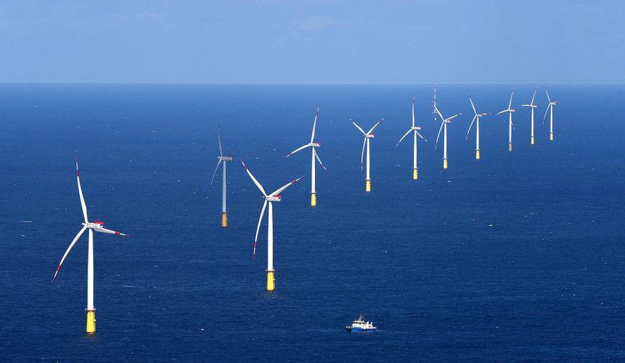 El parque eólico DanTysk, en el mar del Norte, proporciona energía con cero emisiones a Múnich.