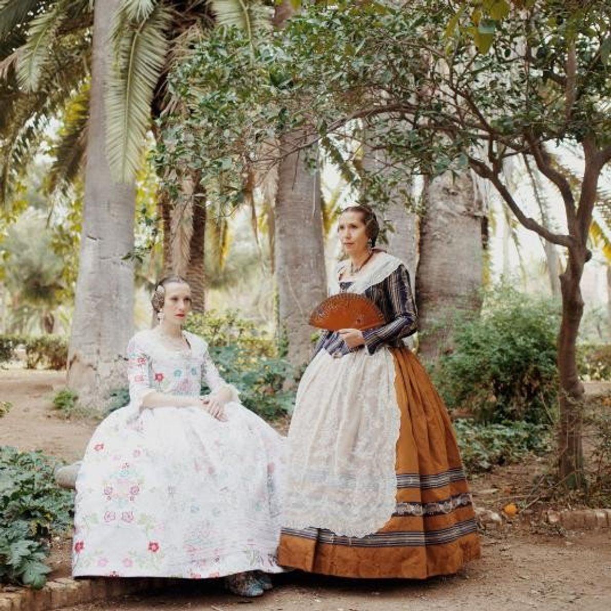 Cristina y su madre, Lola