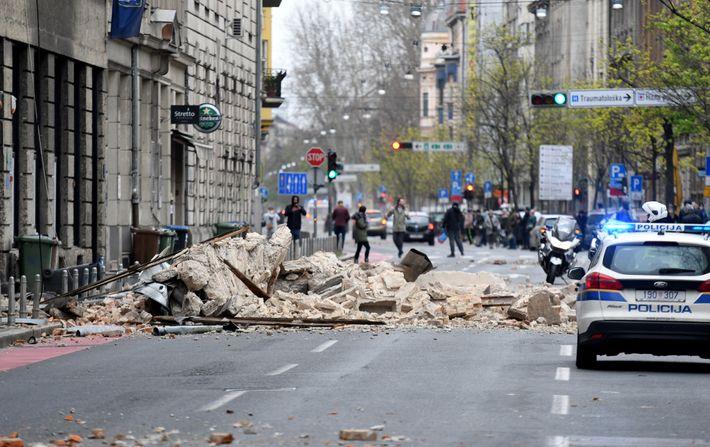 Terremoto en Zagreb