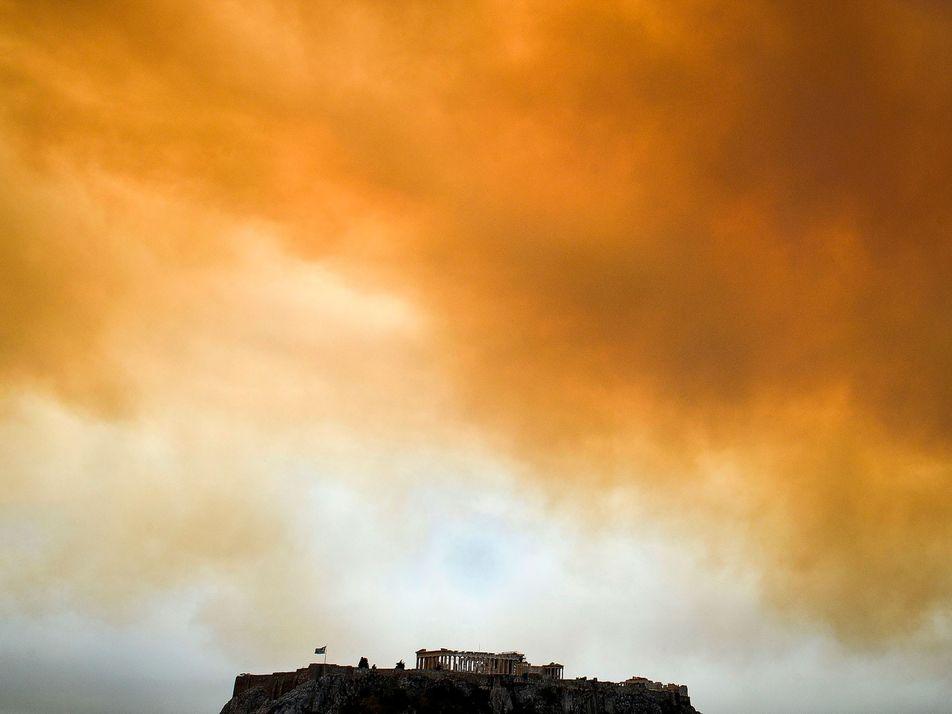¿Es el cambio climático el causante de los incendios de Europa?