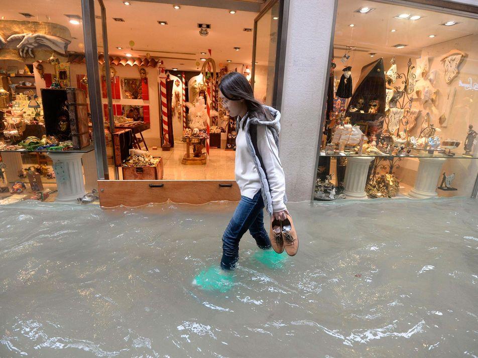 Las inundaciones de Venecia de 2018