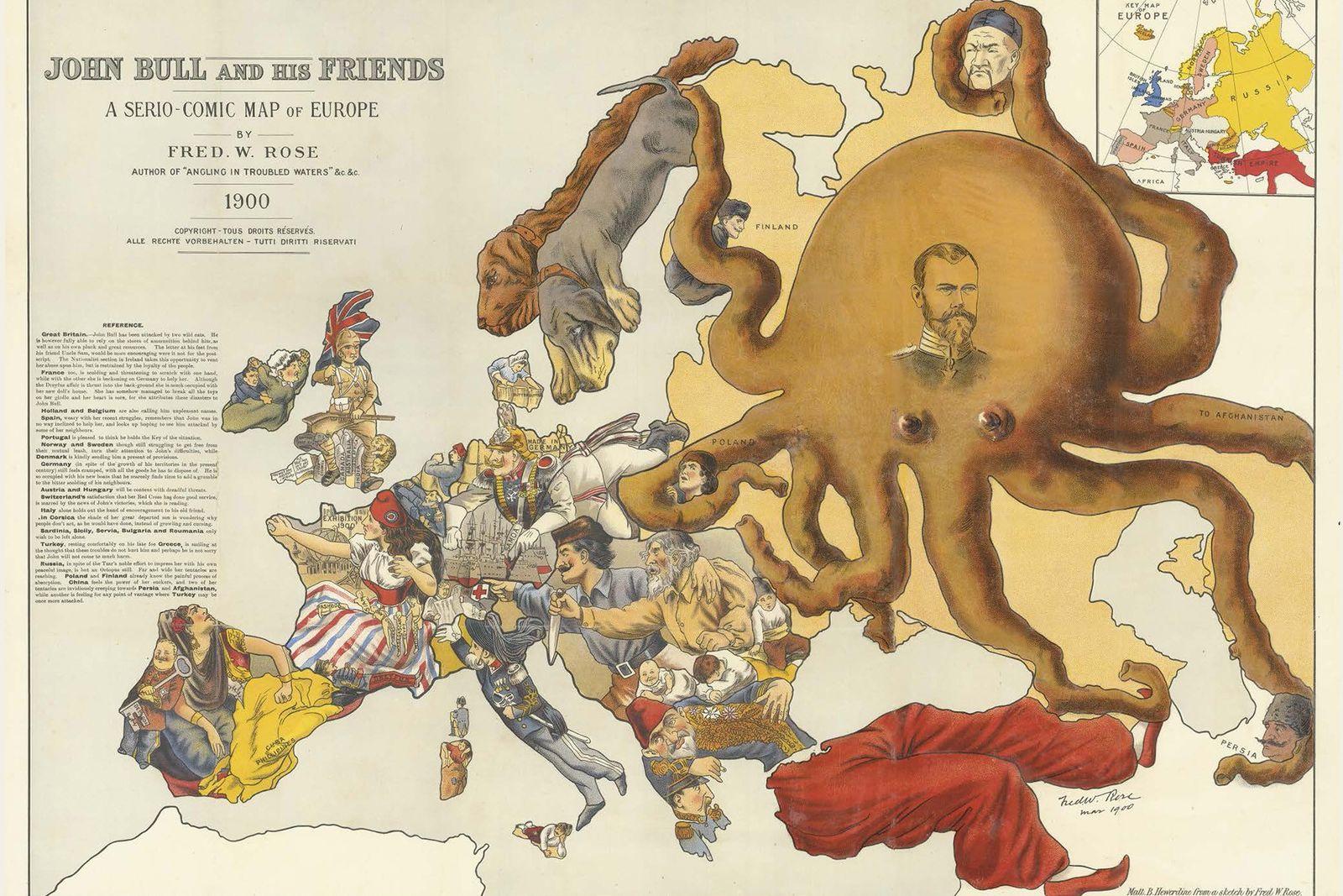 Mapa de 1900