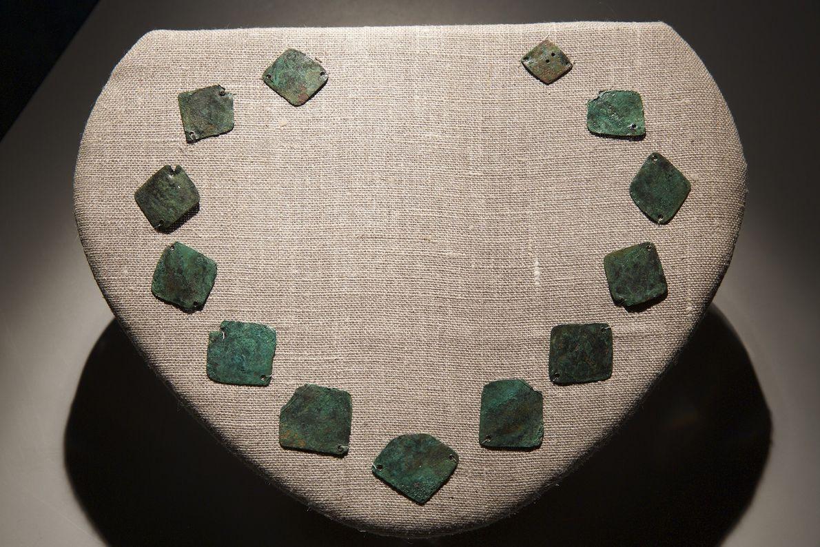 Imagen de un collar de cobre