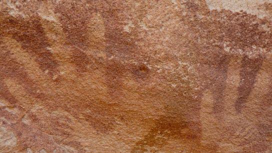 Pinturas rupestres de manos