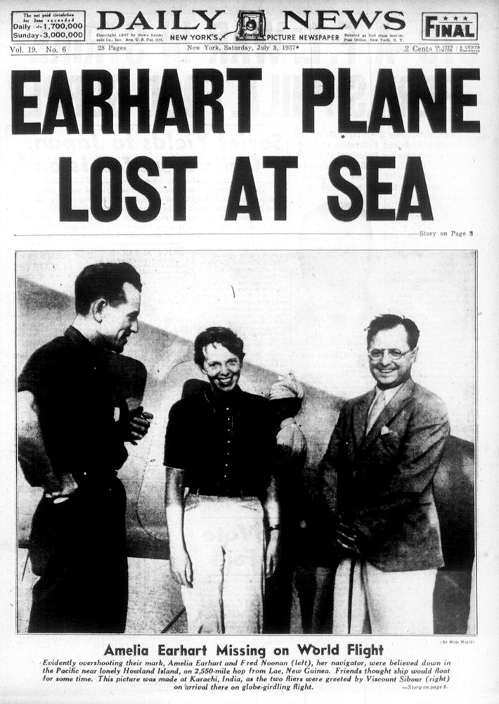 Noticia Amelia Earhart