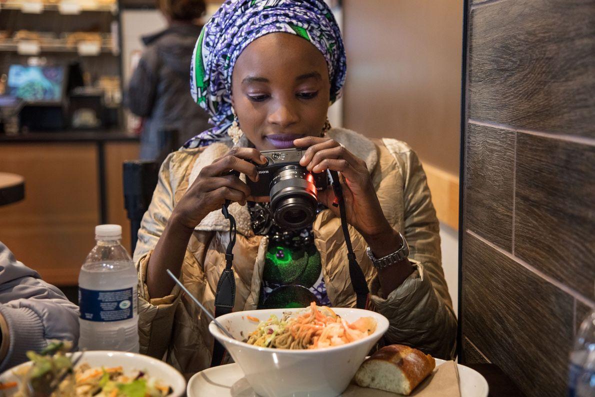 Ya Kaka fotografía su comida
