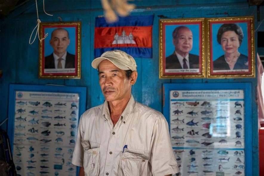 Thach Phanara, director de laboratorio en el Instituto de Investigación y Desarrollo de Pesca Continental, cree que esa falta de motivación y la falta de aplicación de la ley son grandes obstáculos para poner fin al comercio ilegal de peces gigantes.