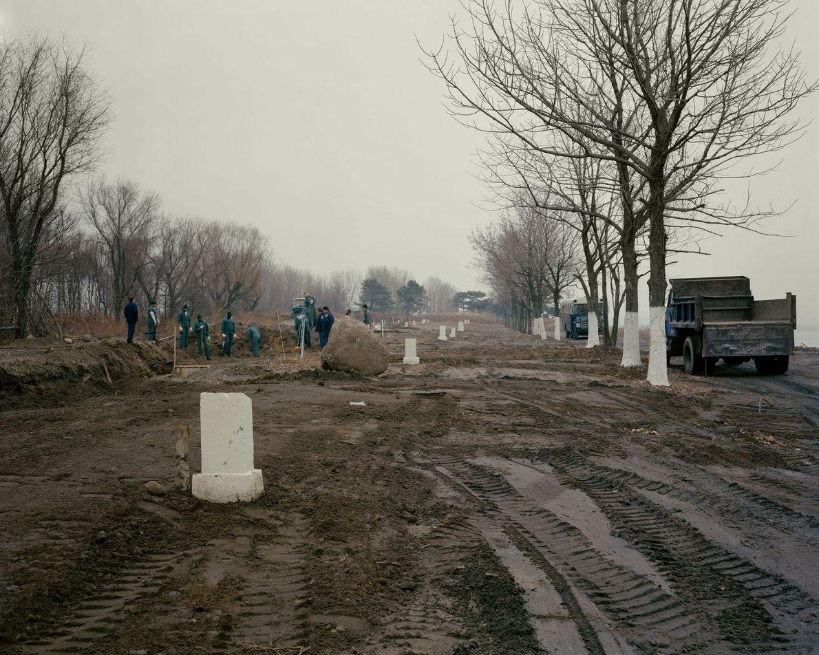 Cementerio Municipal, Isla Hart