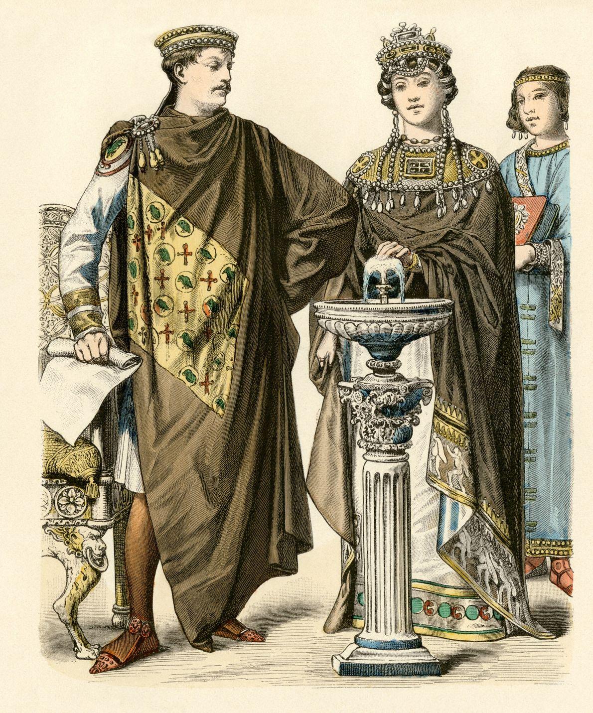 Teodora y Justiniano I