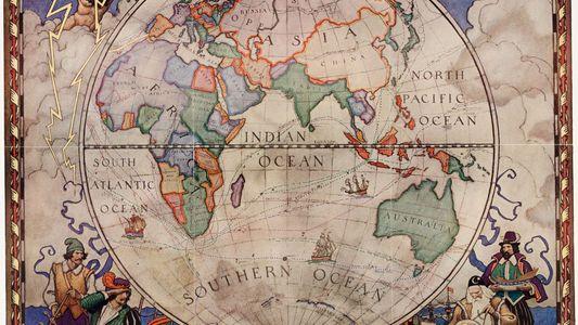 Mapas vintage de National Geographic