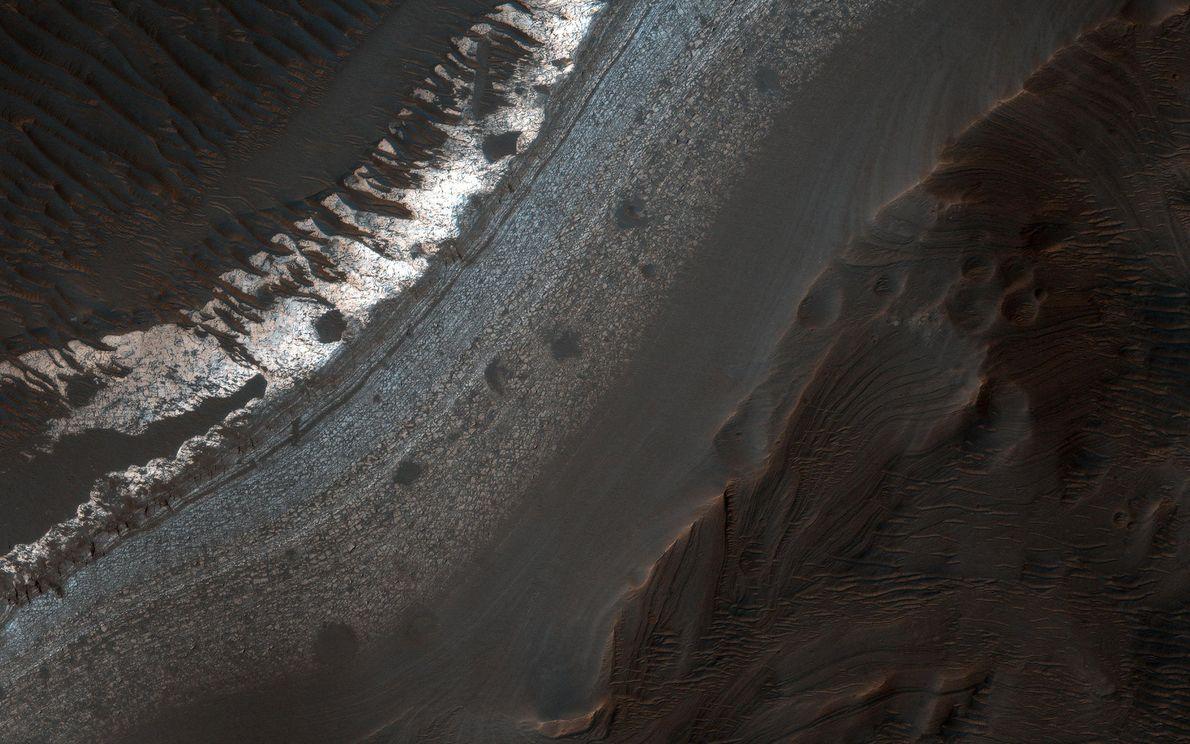 El cráter Holden