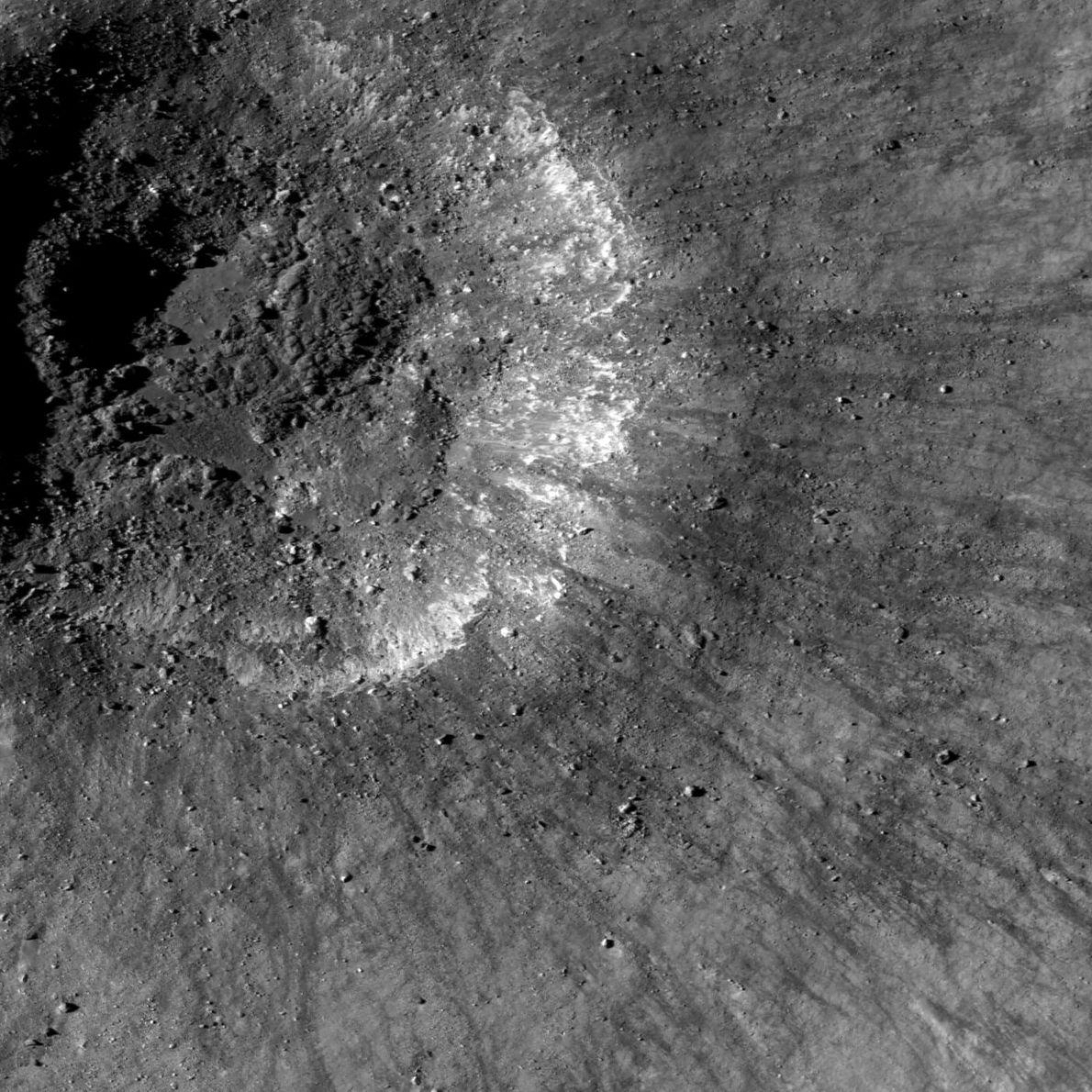 Cráter de la cuenca Balmer