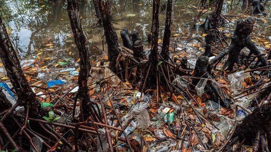 El reciclaje de redes de pesca en las Filipinas