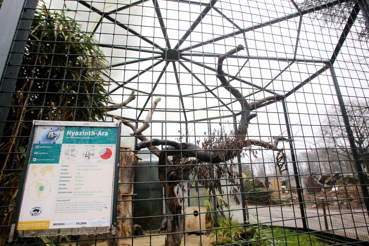 Recinto del zoo Krefeld