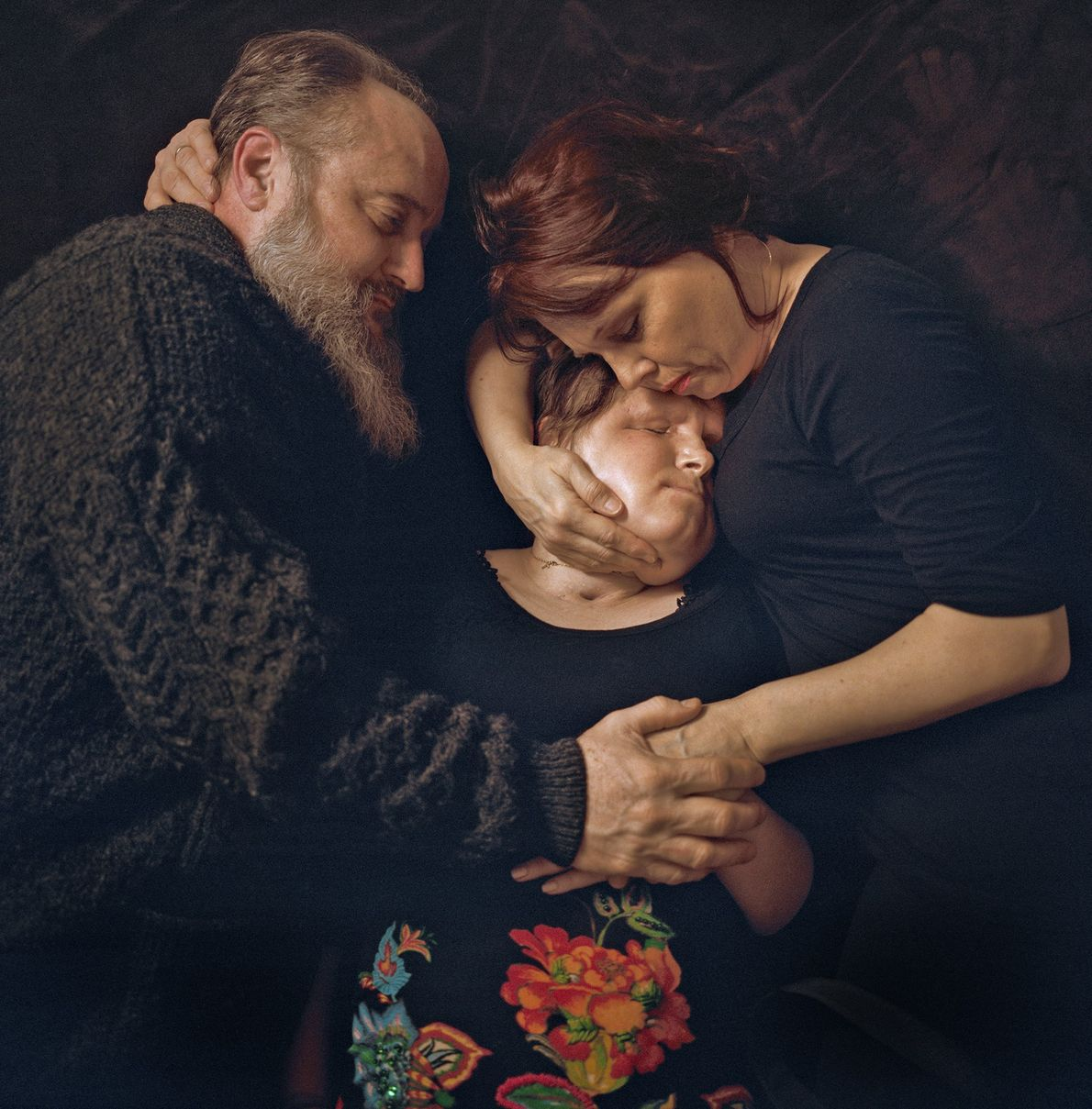 Katie y sus padres