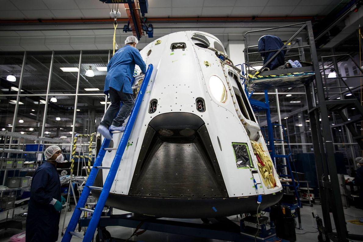 Los ingenieros de SpaceX