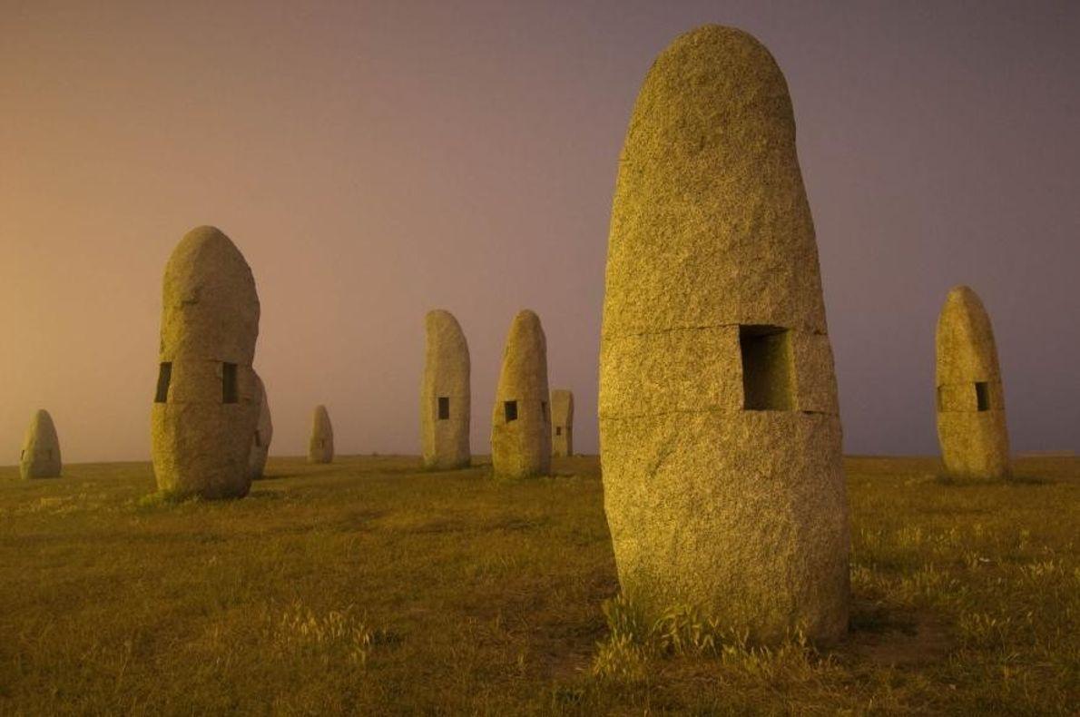 Menhires en Galicia