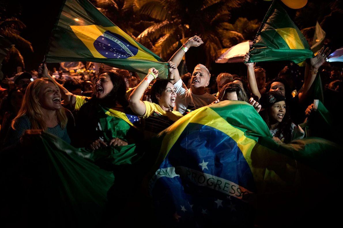 Los simpatizantes de Bolsonaro