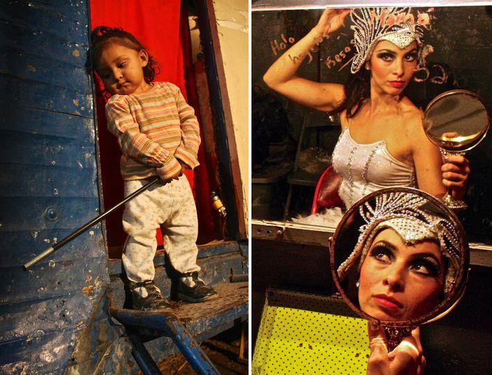 Camerinos de circo, Veracruz