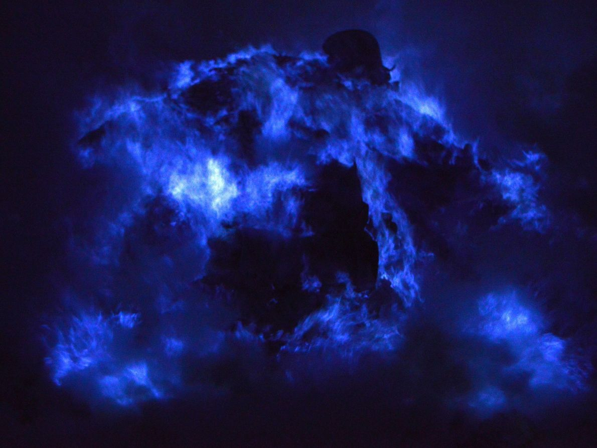 Volcán Ijen, Indonesia