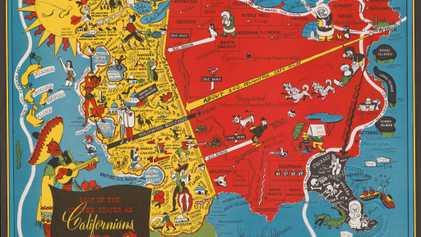 Cuando la geografía no es sagrada en el mundo de los mapas ilustrados
