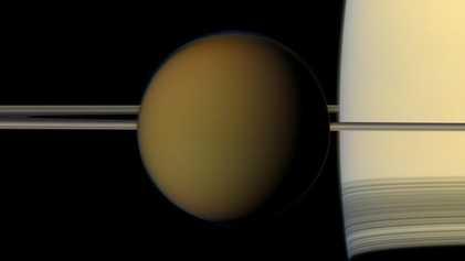 Descubierto en Titán un compuesto con la capacidad de formar membranas