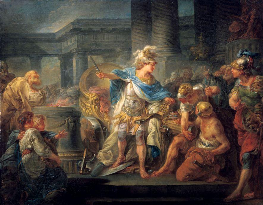 Durante sus doce años de reinado, Alejandro Magno conquistó imperios poderosos y se convirtió en una ...